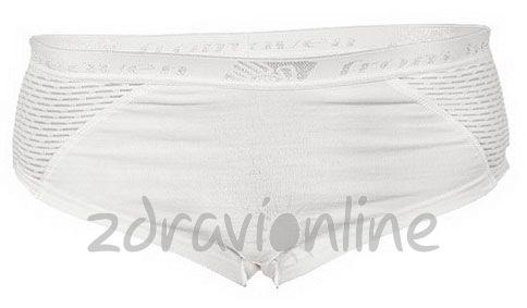 Kalhotky s nohavičkami Sensor Lilly bílé Zdraví Online 5107521b1b