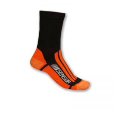 Ponožky Sensor Treking Evolution black-orange Cvičení, fitness Sensor