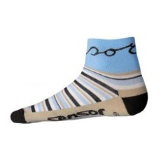 Ponožky Sensor Strips modré cd575f13f3