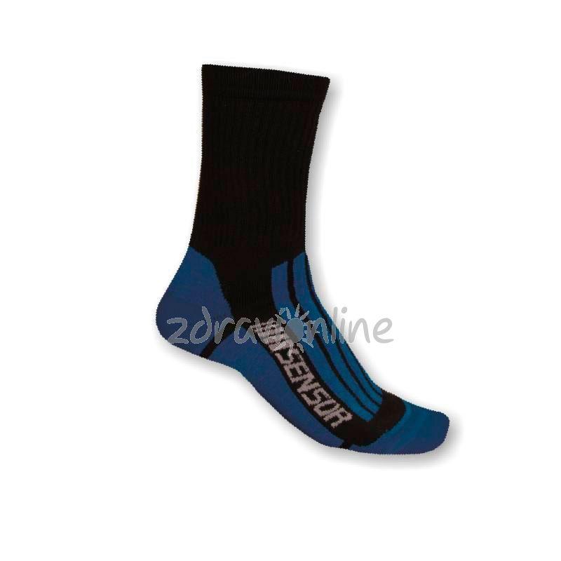 Ponožky Sensor Treking Evolution black-blue Zdraví Online 982f980894