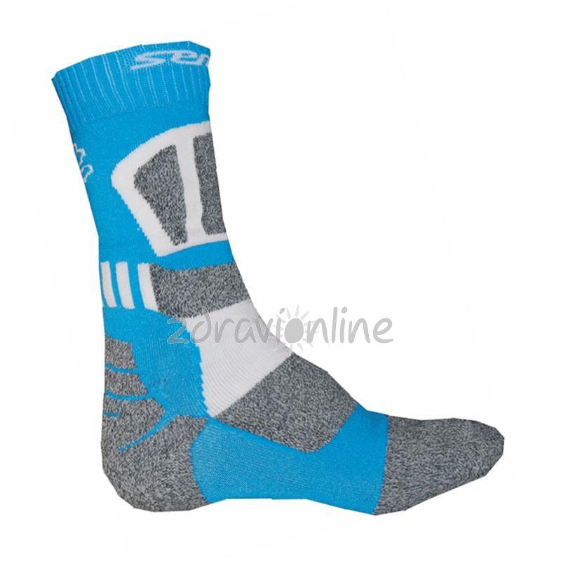 Ponožky Sensor Expedition blue Zdraví Online 40d7dcaea1