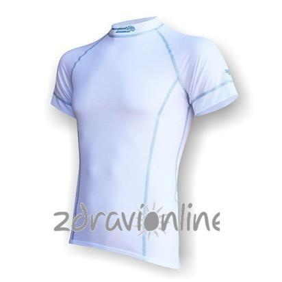 Pánské triko Suspect Animal SilverTech bílá šedá Zdraví Online b654cc2e2f